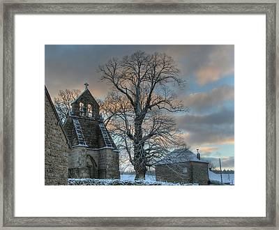Church Framed Print by Lepercq Veronique