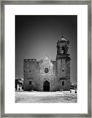 Church Mission San Jose Framed Print by Christine Till