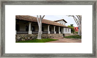Church, Mission San Luis Obispo, San Framed Print