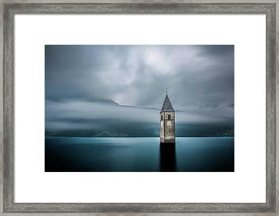 Church Of Graun Framed Print