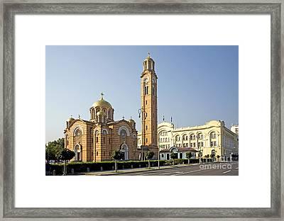Church Of Jesus The Saviour Framed Print by Ladi  Kirn