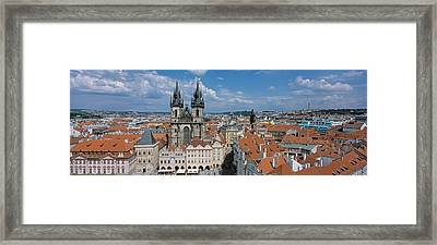 Church Of Our Lady Before Tyn, Old Town Framed Print by Panoramic Images