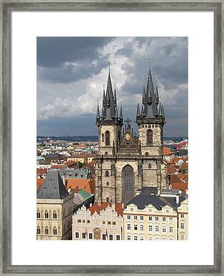Church Of Our Lady Before Tyn - Prague Framed Print