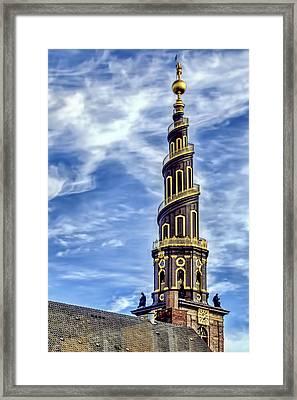 Church Of Our Savior - Copenhagen Denmark Framed Print