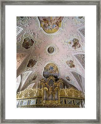 Church Of Pilgrimage Maria Schnee Framed Print by Martin Zwick