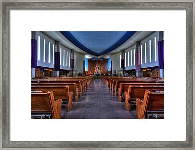 Church Of Saint Columba Framed Print by Amanda Stadther