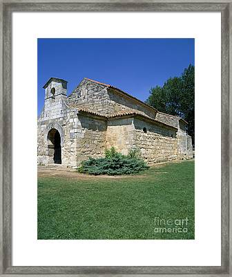 Church Of San Juan Bautista, Spain Framed Print by Rafael Macia