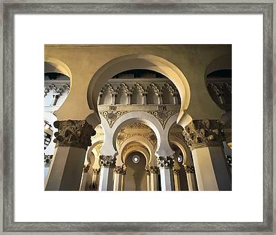 Church Of Santa Mar�a La Blanca. 1180 Framed Print