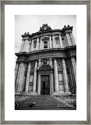 Church Of Santi Luca E Martina In The Imperial Forum Rome Lazio Italy Framed Print