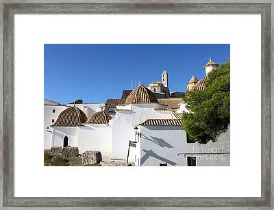 Church Of Santo Domingo In Ibiza Framed Print by Alessandro Russo