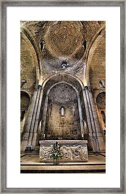 Church Of St. Anne - Jerusalem Framed Print by Stephen Stookey