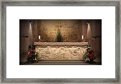 Church Of St. Anne Altar Framed Print