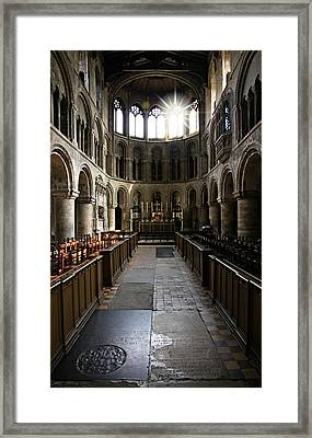 Church Of St Bartholomew The Great Framed Print