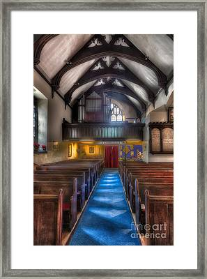 Church Of St Mary Framed Print by Adrian Evans