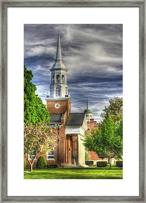 Church Of The Abiding Presence 1a - Lutheran Theological Seminary At Gettysburg Spring Framed Print by Michael Mazaika