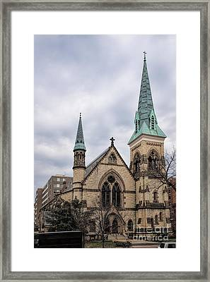 Church Of The Ascension And Saint Agnes Framed Print