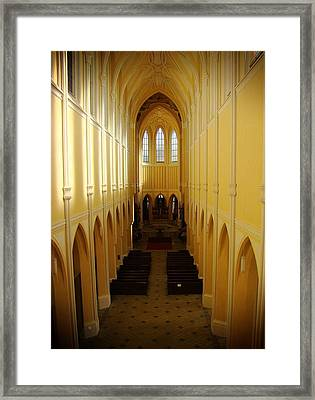 Church Of The Assumption Of Our Lady And Saint John The Baptist Framed Print by Zinvolle Art