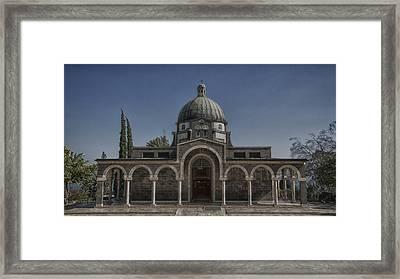 Church Of The Beatitudes Framed Print