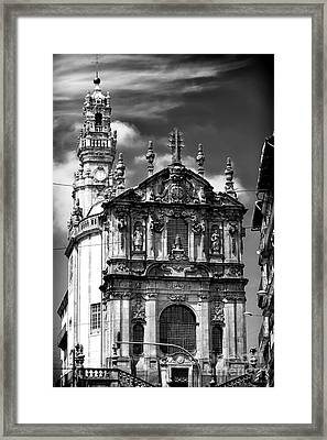 Church Of The Clergy Framed Print by John Rizzuto