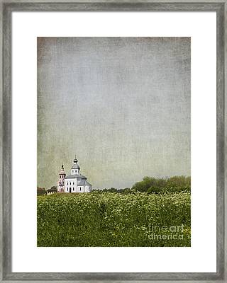 Church Of The Epiphany Suzdal Framed Print