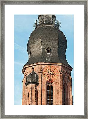 Church Of The Holy Ghost (spirit Framed Print by Michael Defreitas