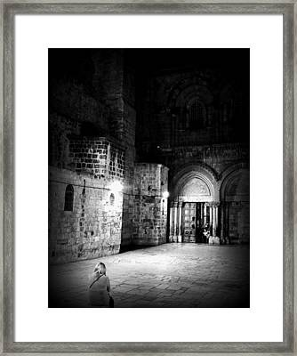 Church Of The Holy Sepulchre Framed Print by Amr Miqdadi