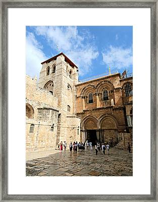 Church Of The Holy Sepulchre Framed Print