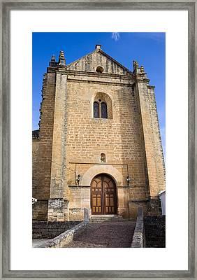 Church Of The Holy Spirit In Spain Framed Print