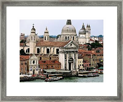 Church Of The Jesuits Framed Print by Ira Shander