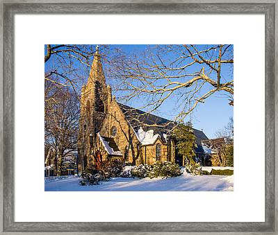 Church Of The Messiah Framed Print