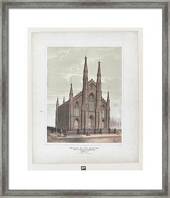 Church Of The Saviour First Unitarian Framed Print