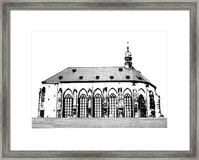 Church Of The Virgin Mary Of Snow Framed Print