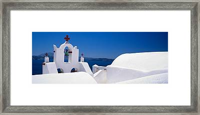 Church, Oia, Santorini, Cyclades Framed Print by Panoramic Images