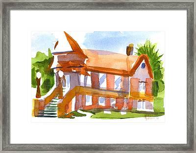 Church On Shepherd Street 4 Framed Print by Kip DeVore