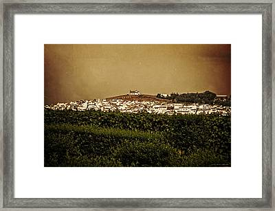 Church On The Hill - Andalusia Framed Print