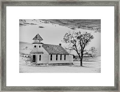 Church On The Plains Framed Print by Marty Koch