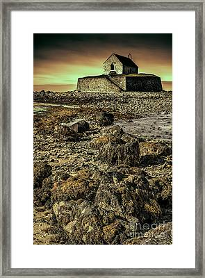 Church On The Rock Framed Print by Adrian Evans