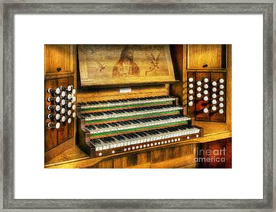 Church Organ Art Framed Print