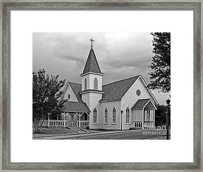 Church Framed Print by Robert Frederick