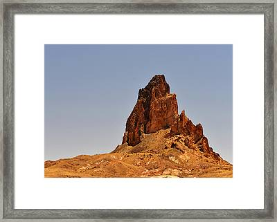 Church Rock Arizona - Stairway To Heaven Framed Print