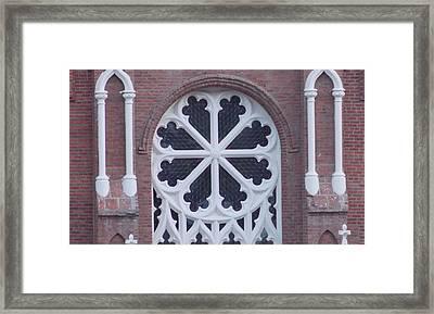 Church Rose  Framed Print