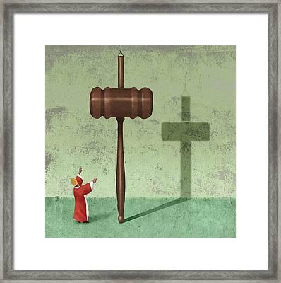 Church-state Framed Print