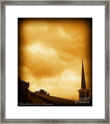 Church Steeple Framed Print
