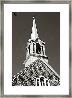 Framed Print featuring the photograph Church Steeple by Sarah Mullin