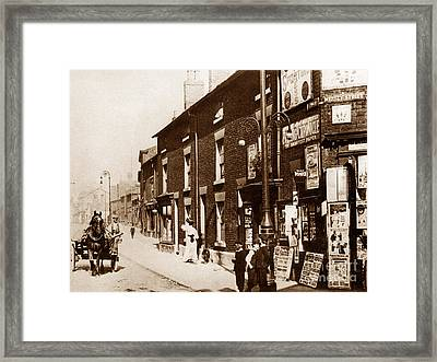 Church Street Warrington England Framed Print by The Keasbury-Gordon Photograph Archive