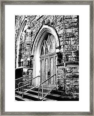 Church Timeless Appeal Framed Print by Janine Riley