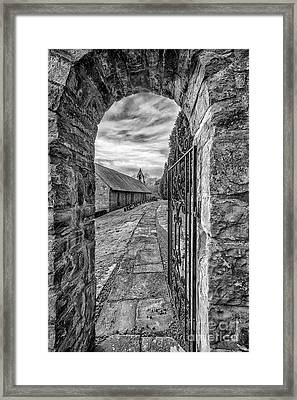 Church Way V2 Framed Print by Adrian Evans
