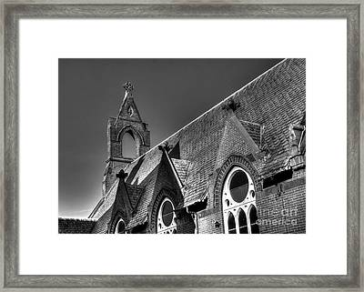 Churches On Church Street Framed Print
