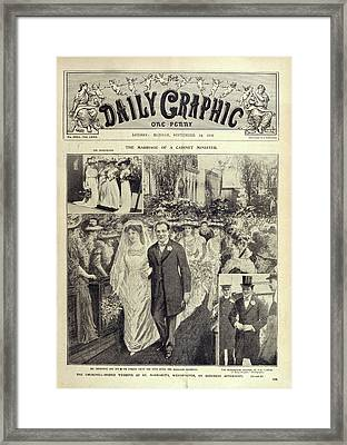 Churchill - Hozier Wedding Framed Print