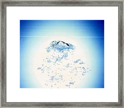 Churning Bubbles Rising Upwards Framed Print by Panoramic Images